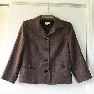 LOFT Wool Blend Blazer
